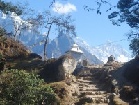 Mountain and Monastry