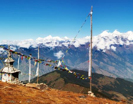 Langtang Valley Towards Ganesh Himal